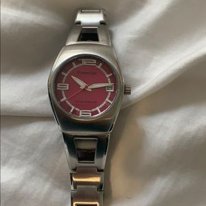 Freestyle 709 silver & pink wrist watch